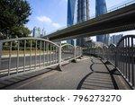 empty road surface floor street ... | Shutterstock . vector #796273270
