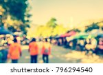 abstract blurred image of... | Shutterstock . vector #796294540