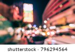 abstract blurred image of... | Shutterstock . vector #796294564
