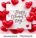 heart red balloon elements with ... | Shutterstock .eps vector #796294618