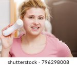 deep cleaning face tools... | Shutterstock . vector #796298008