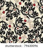 floral seamless pattern   Shutterstock .eps vector #79630096