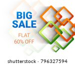 indian republic day sale banner ... | Shutterstock .eps vector #796327594