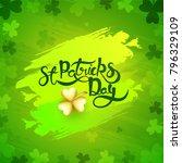 st. patrick's day celebration... | Shutterstock .eps vector #796329109
