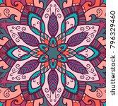 mandala. ethnic decorative... | Shutterstock .eps vector #796329460