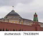 kremlin moscow dome of senate... | Shutterstock . vector #796338694