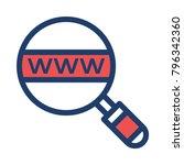 www browser search  | Shutterstock .eps vector #796342360