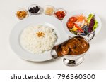 curry and rice | Shutterstock . vector #796360300