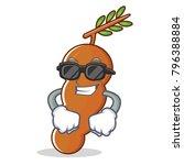 super cool tamarind character... | Shutterstock .eps vector #796388884
