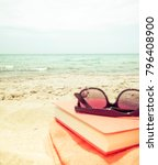 at the beach | Shutterstock . vector #796408900