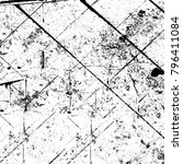 abstract grunge grey dark...   Shutterstock . vector #796411084