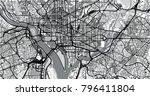 urban vector city map of...   Shutterstock .eps vector #796411804