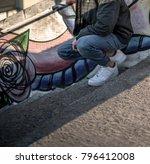 milan  italy   december 20 ...   Shutterstock . vector #796412008