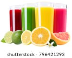 juice smoothie orange fruit... | Shutterstock . vector #796421293