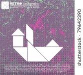 tangram ship | Shutterstock .eps vector #79642390