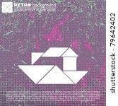 tangram ship | Shutterstock .eps vector #79642402