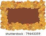 bakery frame | Shutterstock .eps vector #79643359