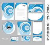 corporate identity branding... | Shutterstock .eps vector #796439860