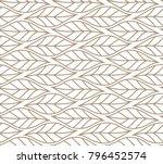 vector illustration of leaves... | Shutterstock .eps vector #796452574