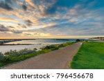 dramatic sunset at adelaide... | Shutterstock . vector #796456678