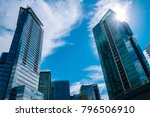 vancouver city streets | Shutterstock . vector #796506910