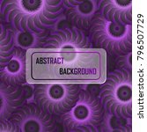 abstract violet geometric...   Shutterstock .eps vector #796507729