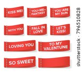 valentine s day clothing labels.... | Shutterstock . vector #796510828