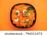 traditional indian cuisine.... | Shutterstock . vector #796511473