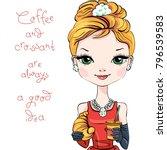 fashionable modern smartly... | Shutterstock .eps vector #796539583