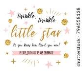 twinkle twinkle little star... | Shutterstock .eps vector #796558138