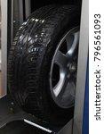 tire washing equipment   Shutterstock . vector #796561093