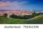 auckland. cityscape image of...   Shutterstock . vector #796561558