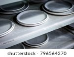 workshop production of ceramic... | Shutterstock . vector #796564270