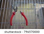 Small photo of Use pliers to cut steel deduct damaged.