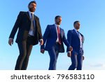 business success and... | Shutterstock . vector #796583110