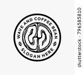 coffee shop emblem design | Shutterstock .eps vector #796585810