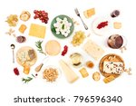 an assortment of various types... | Shutterstock . vector #796596340