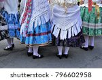 culture of hungary. traditional ... | Shutterstock . vector #796602958
