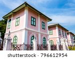 gothic architecture in colorful | Shutterstock . vector #796612954