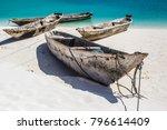 beautiful zanzibar coast line.... | Shutterstock . vector #796614409