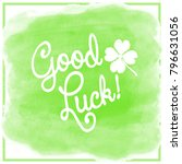 Good Luck  Lettering With A...