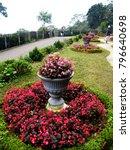 a beautiful landscaped garden... | Shutterstock . vector #796640698