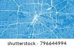 urban vector city map of... | Shutterstock .eps vector #796644994