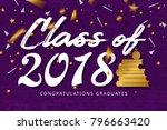 graduation label. vector text...   Shutterstock .eps vector #796663420