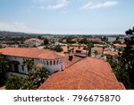 Santa Barbara Red Tile Roof Tops