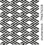 vector seamless pattern. modern ... | Shutterstock .eps vector #796676218