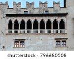 buonconsiglio castle  castle of ... | Shutterstock . vector #796680508