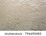 embossed glass texture...   Shutterstock . vector #796690483