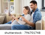 online shopping  pregnancy and... | Shutterstock . vector #796701748