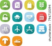flat vector icon set   electric ...   Shutterstock .eps vector #796710394